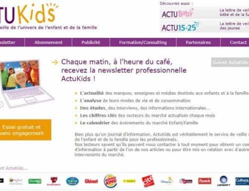 Selon ActuKids, les marques ont bien compris l'aspiration «Cocooning» des familles